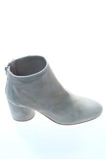 Ankle boots Dove grey Leather - ANNA F.