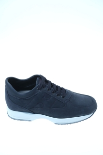 Sneakers Blue Leather - HOGAN