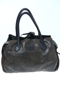 Medium bags Dark brown Leather - CATERINA LUCCHI