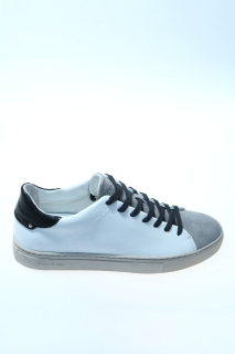 Sneakers White Leather - CRIME
