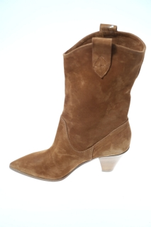 Ankle boots tobacco Leather - FIORIFRANCESI