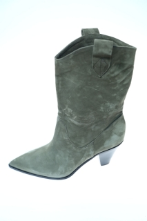 Ankle boots military Leather - FIORIFRANCESI