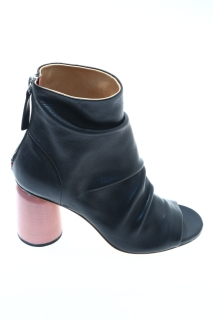 Ankle boots Black Leather - HALMANERA