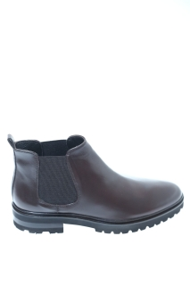 Ankle boots Brown Rubber - LORENZO MASIERO