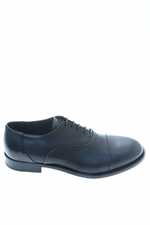 Leather Black Classic lace up shoe FABRIZIO SILENZI