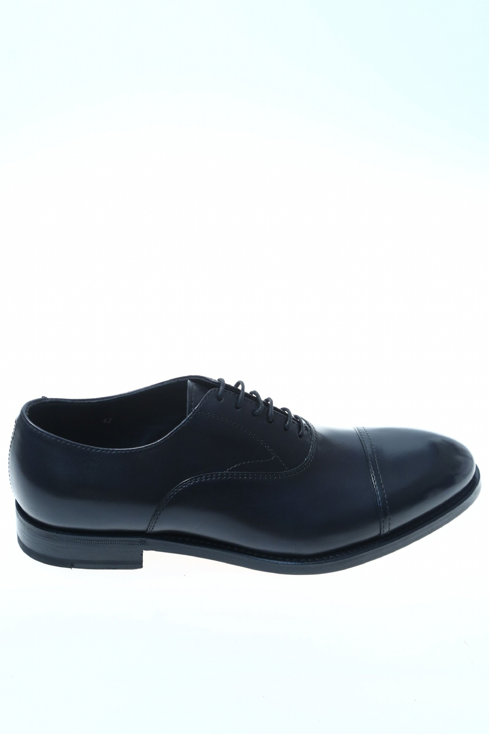 Leather Black Classic lace up shoe HENDERSON