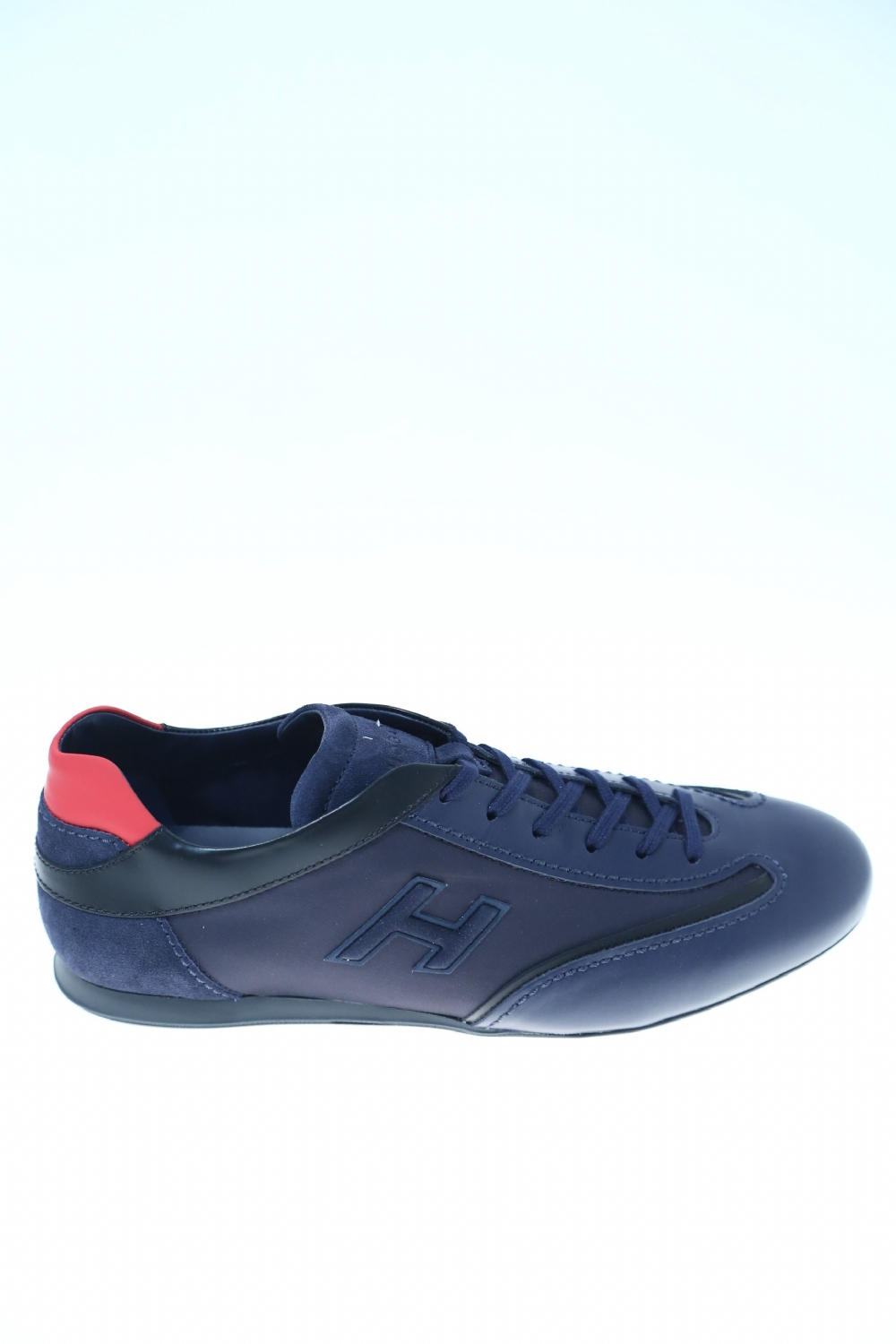 Leather Blue red Sneaker HOGAN