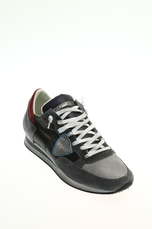 suede grey sneaker philippe model
