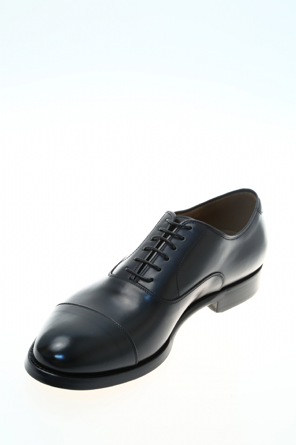 Leather Black Classic lace up shoe DOUCAL'S