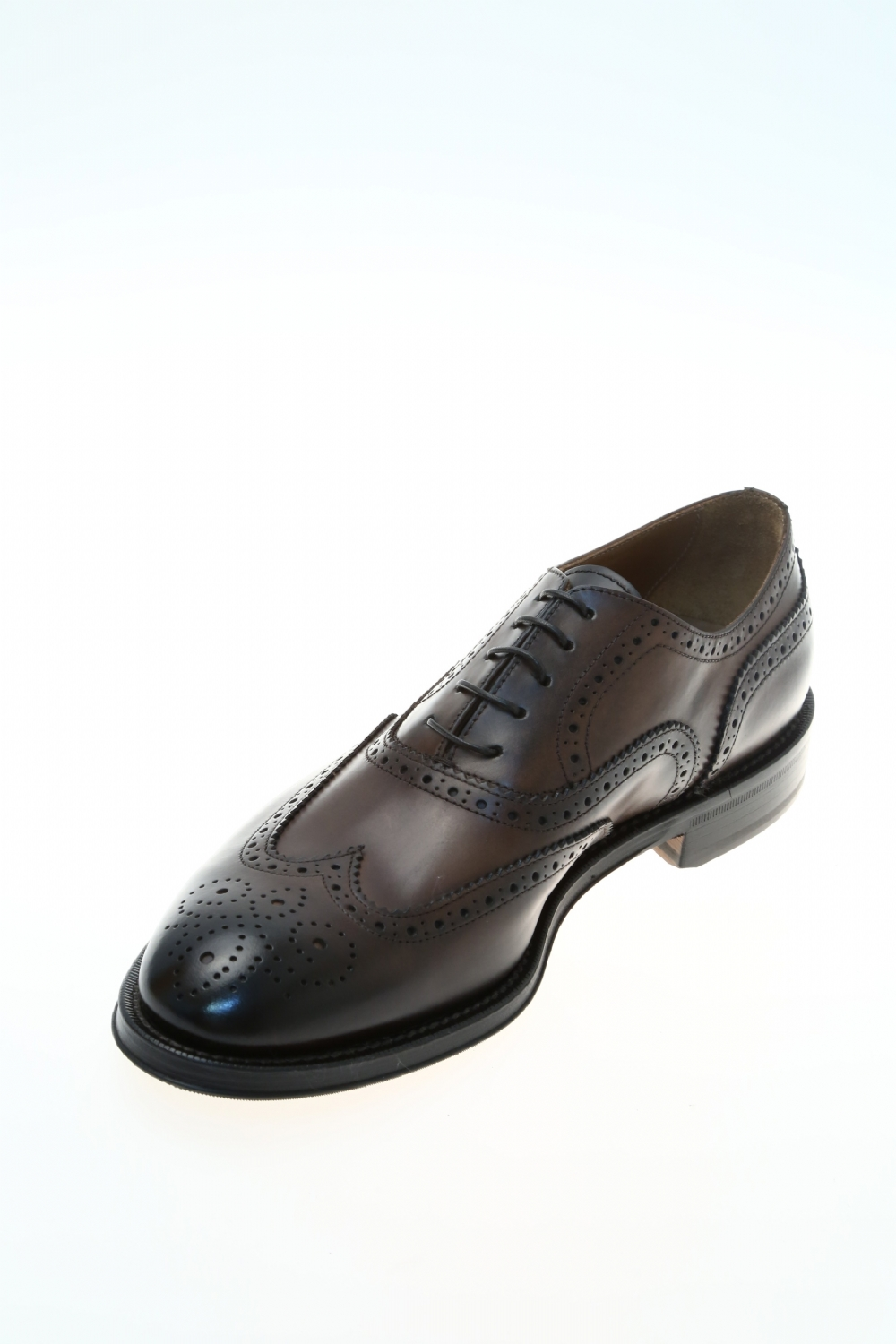 Leather Brown Classic lace up shoe DOUCAL'S