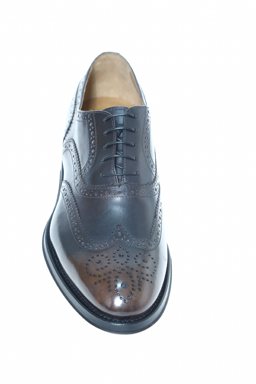 Leather Dark brown Classic lace up shoe DOUCAL'S