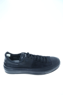 Sneakers Black Leather - OFFICINE CREATIVE
