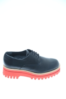 Lace up shoes Black Leather - PALOMA BARCELO'