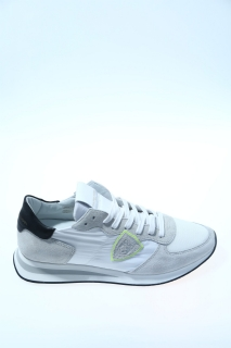 Sneakers White and black Suede - PHILIPPE MODEL