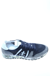Sneakers Blue Grey Leather - PREMIATA