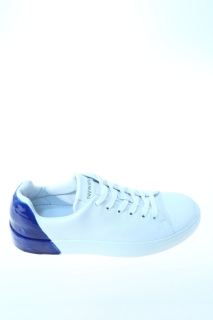 Sneakers white and blue Leather - PREMIATA
