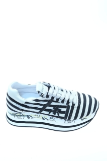 Sneakers White and black Rubber - PREMIATA