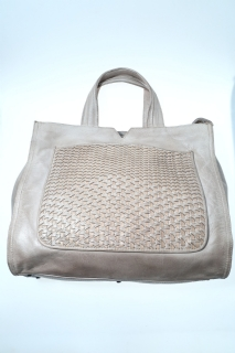 Medium bags ice beige Soft leather - REPTILE'S HOUSE