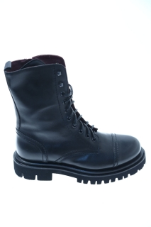Boots Black Leather - SEBOY'S