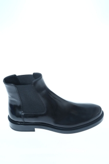 Anlkle boots Black Leather - TOD