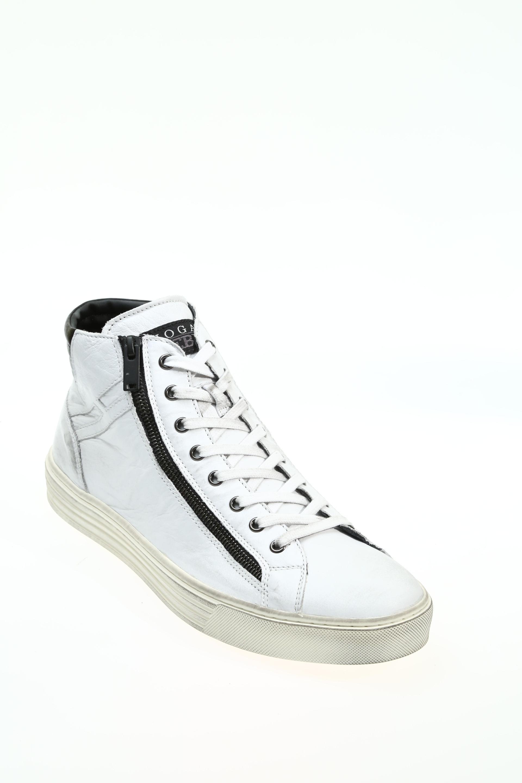 Sneaker Bianco Gomma HOGAN REBEL - Sneakers e71d0bca344