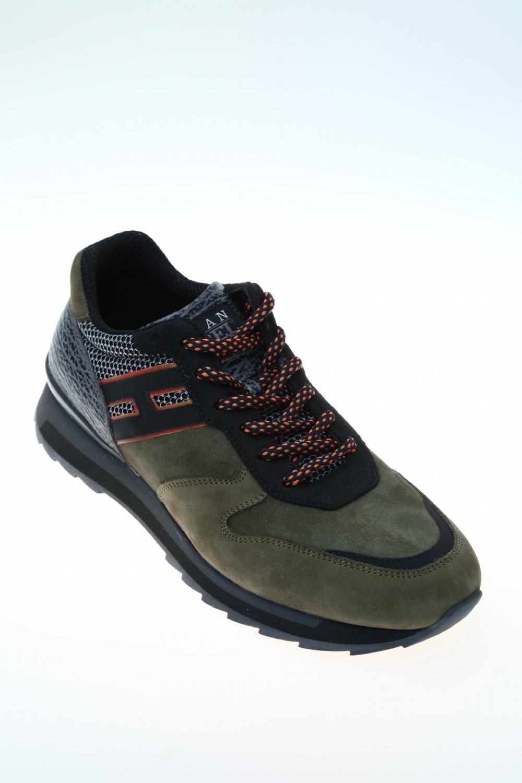 Sneaker Militare Pelle HOGAN REBEL - Sneakers