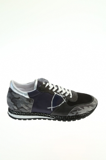 Sneakers Sneaker Philippe Nero Camoscio Model 1qwg4Pwv