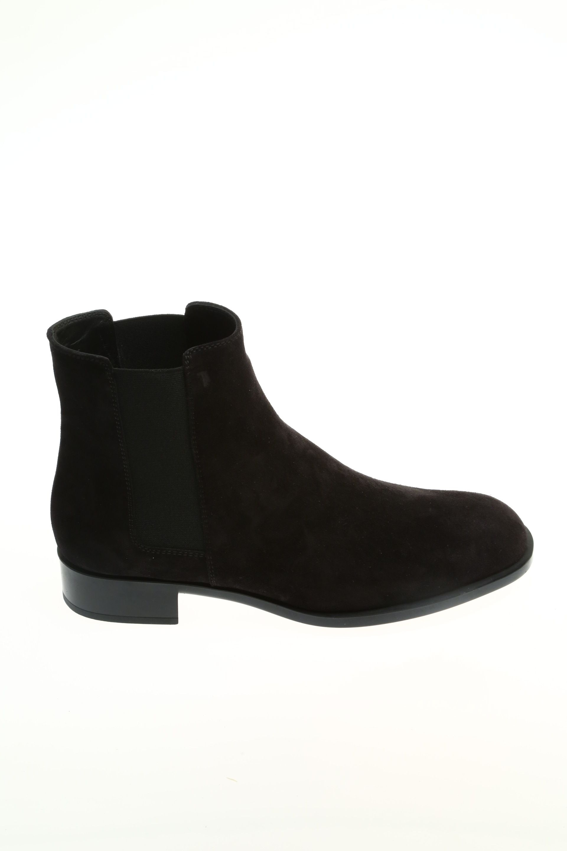 suede black suede ankle boot tod s