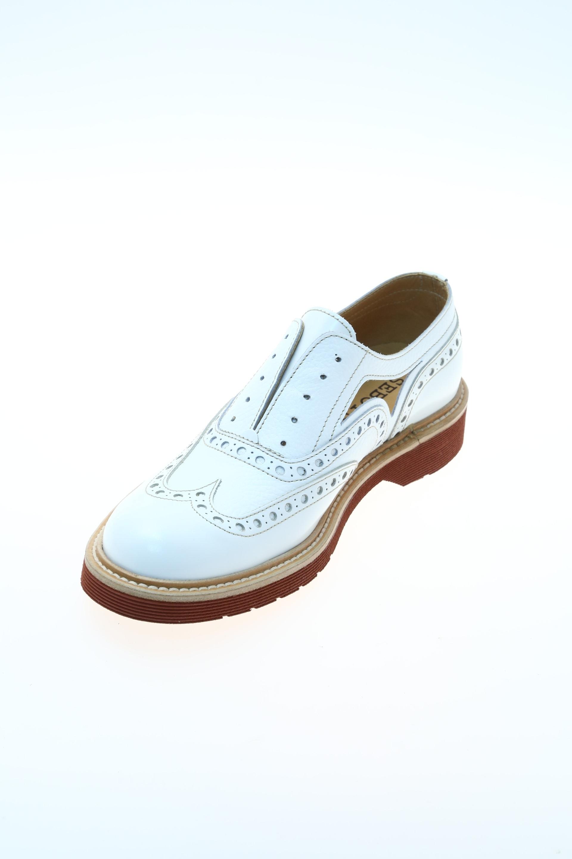 rubber white lace up shoe seboy s