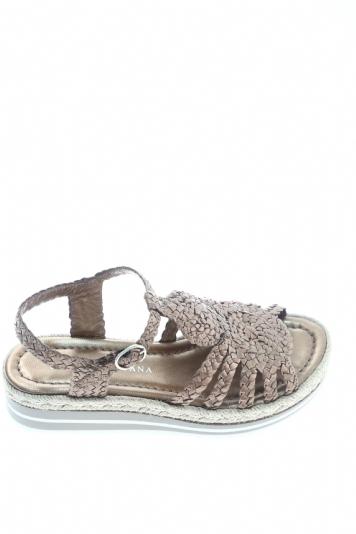 Leather Bronze Sandal Leather Quintana Sandal Pons Bronze lc1JFTK