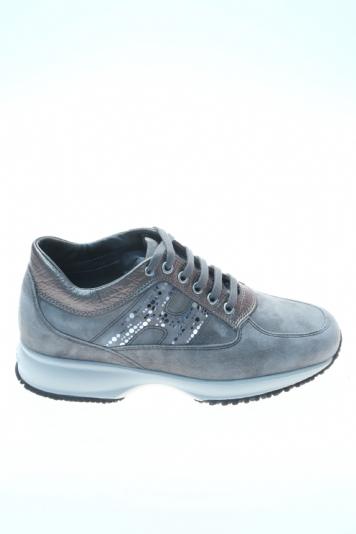 4c5ddbc6a3 Suede Dove grey Sneaker HOGAN
