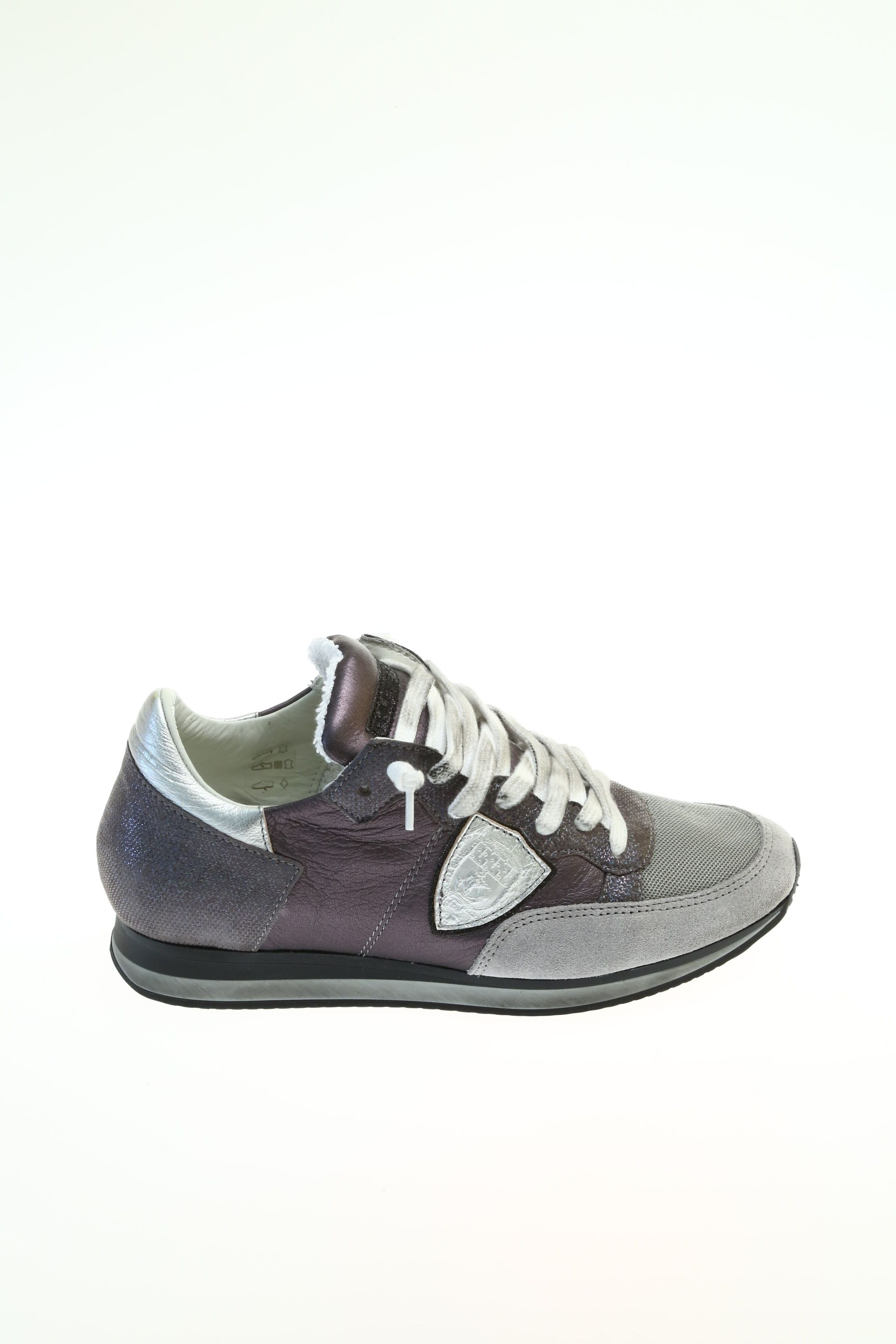 Sneakers for Women On Sale, Black, Suede leather, 2017, 2.5 3.5 4.5 5.5 6 7.5 8.5 Philippe Model