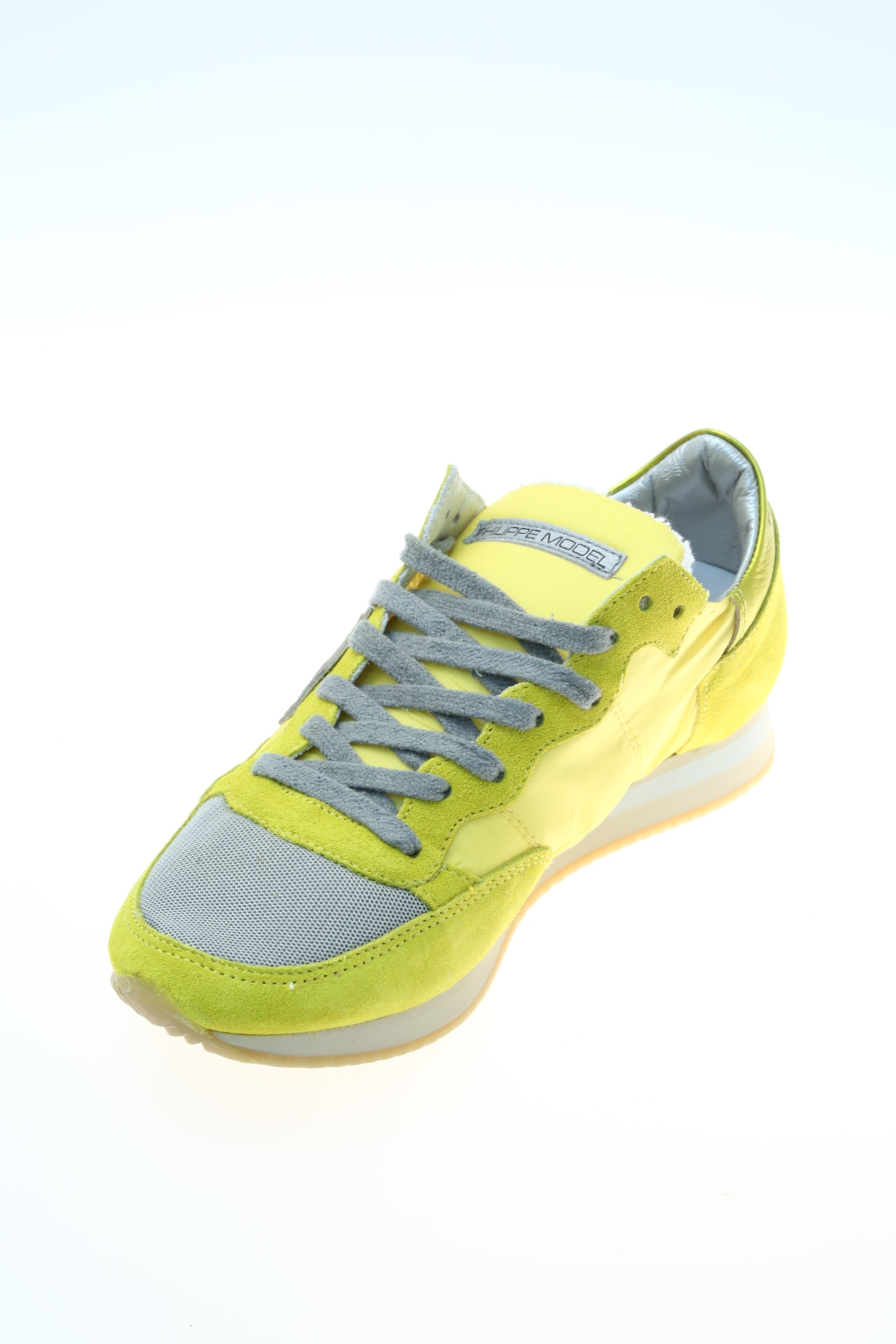rubber yellow sneaker philippe model. Black Bedroom Furniture Sets. Home Design Ideas